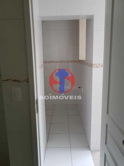 porta cozinha - Casa de Vila 2 quartos à venda Maracanã, Rio de Janeiro - R$ 385.000 - TJCV20104 - 14