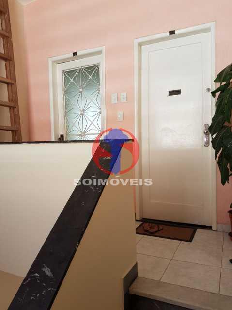 entrada apartamento - Casa de Vila 2 quartos à venda Maracanã, Rio de Janeiro - R$ 385.000 - TJCV20104 - 22