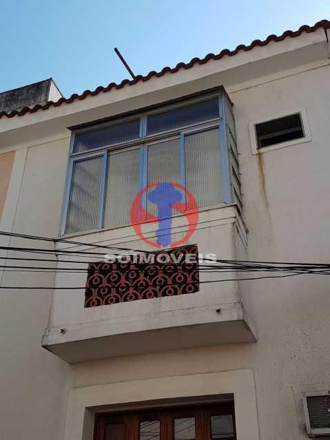 frente casa - Casa de Vila 2 quartos à venda Maracanã, Rio de Janeiro - R$ 385.000 - TJCV20104 - 27