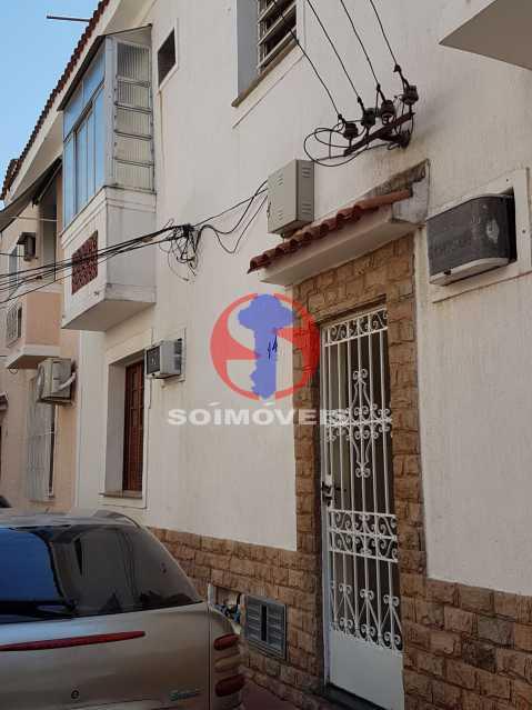 fachada - Casa de Vila 2 quartos à venda Maracanã, Rio de Janeiro - R$ 385.000 - TJCV20104 - 28