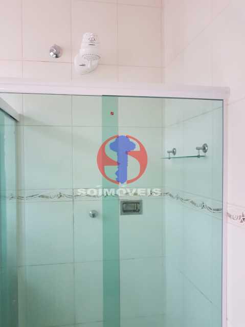 banheiro social - Casa de Vila 2 quartos à venda Maracanã, Rio de Janeiro - R$ 385.000 - TJCV20104 - 18