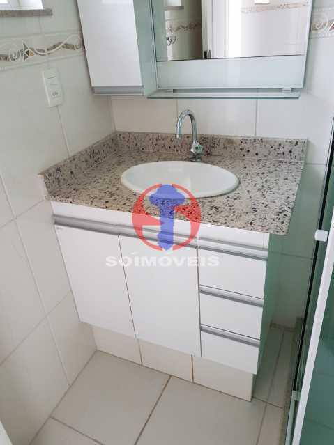 pia banho - Casa de Vila 2 quartos à venda Maracanã, Rio de Janeiro - R$ 385.000 - TJCV20104 - 19