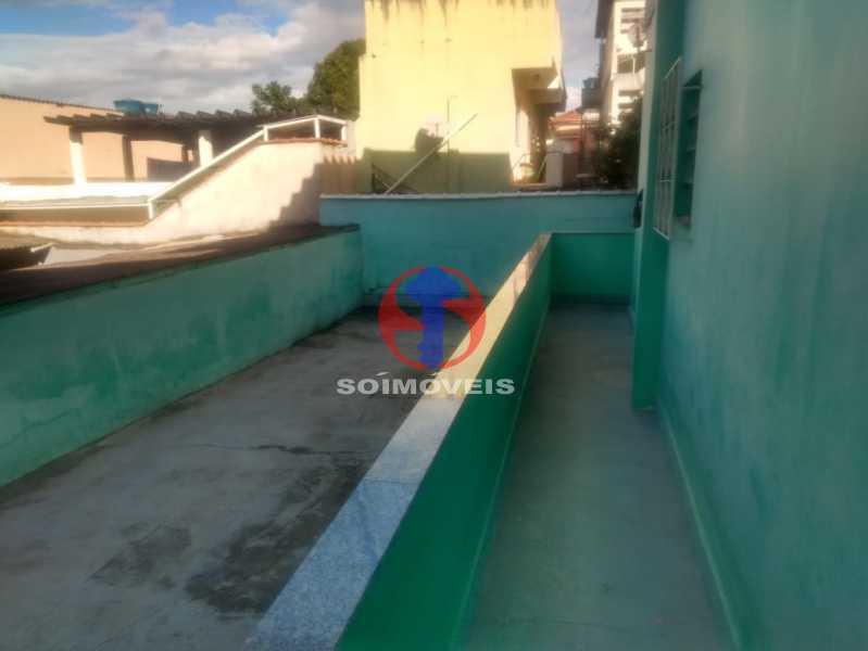 VARANDA DE FRENTE - Casa 3 quartos à venda Maria da Graça, Rio de Janeiro - R$ 575.000 - TJCA30081 - 5