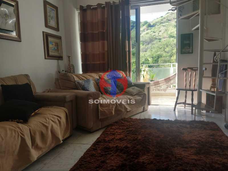 1611776335891 - Cobertura 2 quartos à venda Riachuelo, Rio de Janeiro - R$ 370.000 - TJCO20031 - 1