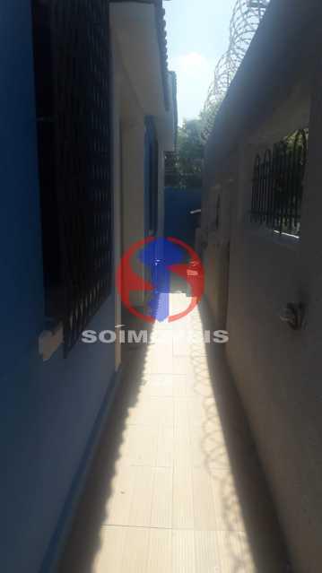 Área da Frente - Casa 4 quartos à venda Méier, Rio de Janeiro - R$ 750.000 - TJCA40055 - 26