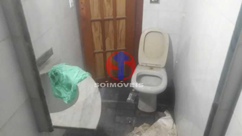 Banheiro de serviço - Casa 4 quartos à venda Méier, Rio de Janeiro - R$ 750.000 - TJCA40055 - 14