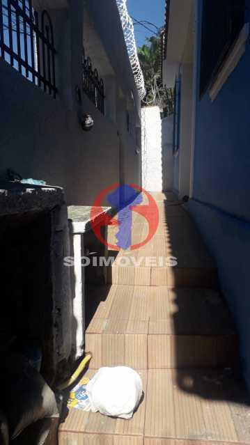 Área da Frente - Casa 4 quartos à venda Méier, Rio de Janeiro - R$ 750.000 - TJCA40055 - 29