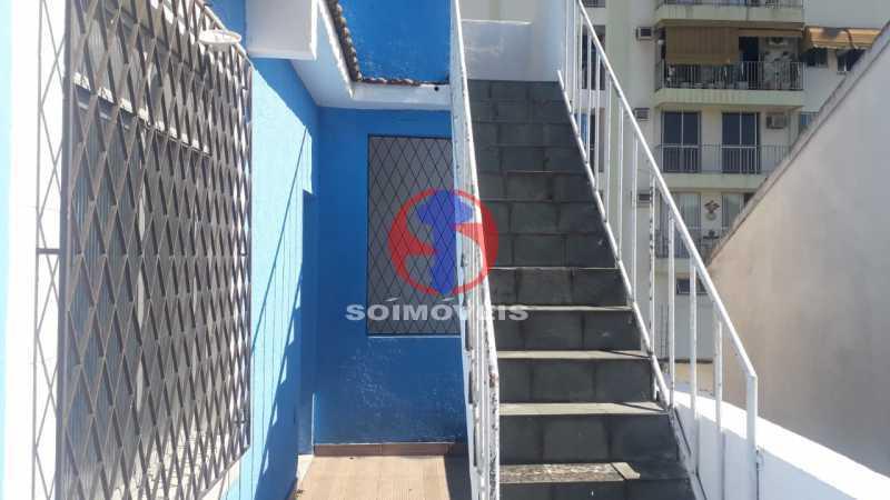 Escada para o terraço - Casa 4 quartos à venda Méier, Rio de Janeiro - R$ 750.000 - TJCA40055 - 22