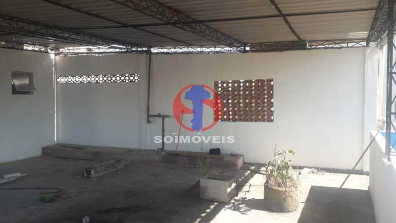 Terraço - Casa 4 quartos à venda Méier, Rio de Janeiro - R$ 750.000 - TJCA40055 - 25