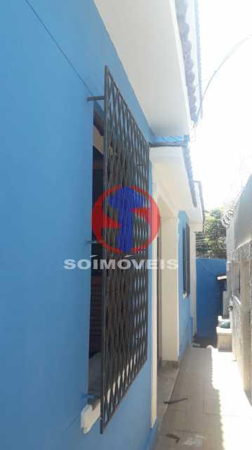 Área da Frente - Casa 4 quartos à venda Méier, Rio de Janeiro - R$ 750.000 - TJCA40055 - 27