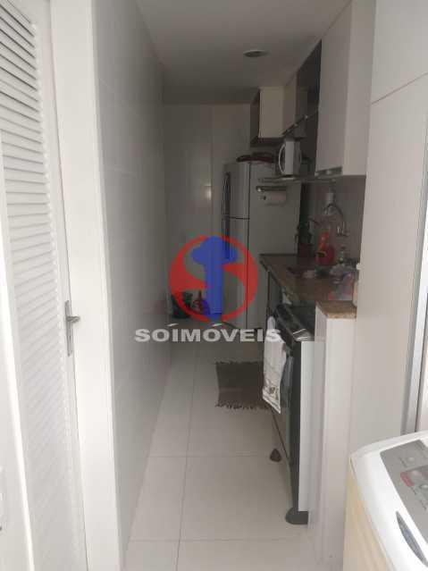 COZINHA ÁREA SERVIÇO - Apartamento 3 quartos à venda Riachuelo, Rio de Janeiro - R$ 255.000 - TJAP30713 - 13