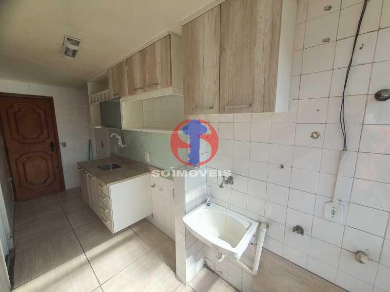 COZINHA E ÁREA DE SERVIO - Apartamento 2 quartos à venda Cachambi, Rio de Janeiro - R$ 255.000 - TJAP21479 - 6