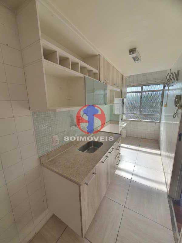COZINHA E ÁREA DE SERVIO - Apartamento 2 quartos à venda Cachambi, Rio de Janeiro - R$ 255.000 - TJAP21479 - 5