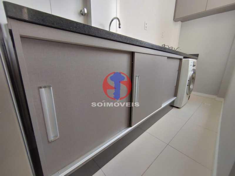 cozinha - Apartamento 2 quartos à venda São Francisco Xavier, Rio de Janeiro - R$ 230.000 - TJAP21480 - 13
