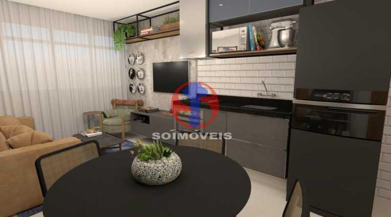 fotos-4 - Apartamento 2 quartos à venda Botafogo, Rio de Janeiro - R$ 598.000 - TJAP21491 - 3