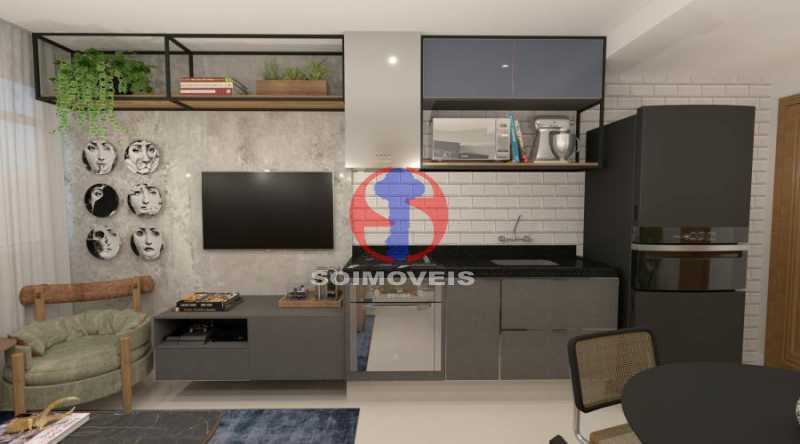 fotos-6 - Apartamento 2 quartos à venda Botafogo, Rio de Janeiro - R$ 598.000 - TJAP21491 - 4