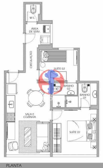 fotos-15 - Apartamento 2 quartos à venda Botafogo, Rio de Janeiro - R$ 598.000 - TJAP21491 - 13