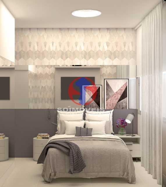 4ec8b9e1d7e922ca-QUARTO 01 - Apartamento 2 quartos à venda Copacabana, Rio de Janeiro - R$ 849.000 - TJAP21492 - 7