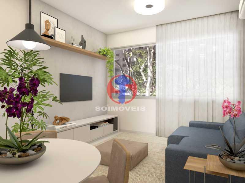 432d6ce82c03edd0-SALA 02 - Apartamento 2 quartos à venda Copacabana, Rio de Janeiro - R$ 849.000 - TJAP21492 - 1