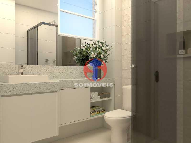 510fbb2bf9cbba2d-BANHEIRO SOCI - Apartamento 2 quartos à venda Copacabana, Rio de Janeiro - R$ 849.000 - TJAP21492 - 10
