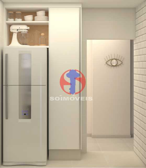 8200c2be33e280be-COZINHA 01 - Apartamento 2 quartos à venda Copacabana, Rio de Janeiro - R$ 849.000 - TJAP21492 - 19