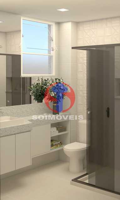 be1cedfea52aa486-BANHEIRO SOCI - Apartamento 2 quartos à venda Copacabana, Rio de Janeiro - R$ 849.000 - TJAP21492 - 14