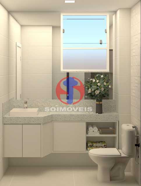 cc15bcc8437b1154-BANHEIRO SOCI - Apartamento 2 quartos à venda Copacabana, Rio de Janeiro - R$ 849.000 - TJAP21492 - 15