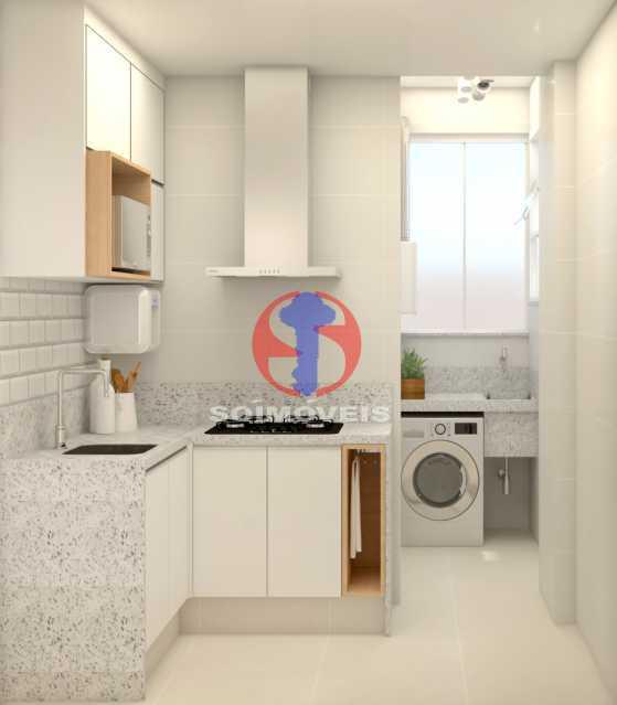 d6ee920f84bc09a4-COZINHA 02 - Apartamento 2 quartos à venda Copacabana, Rio de Janeiro - R$ 849.000 - TJAP21492 - 18