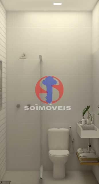 d4364ed096bac754-BANHEIRO SERV - Apartamento 2 quartos à venda Copacabana, Rio de Janeiro - R$ 849.000 - TJAP21492 - 13