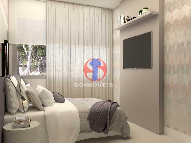 e7ad686ba7351052-QUARTO 03 - Apartamento 2 quartos à venda Copacabana, Rio de Janeiro - R$ 849.000 - TJAP21492 - 16