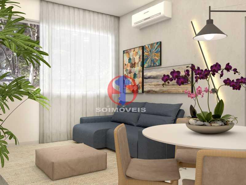 e320bb11c635406a-SALA 05 - Apartamento 2 quartos à venda Copacabana, Rio de Janeiro - R$ 849.000 - TJAP21492 - 6