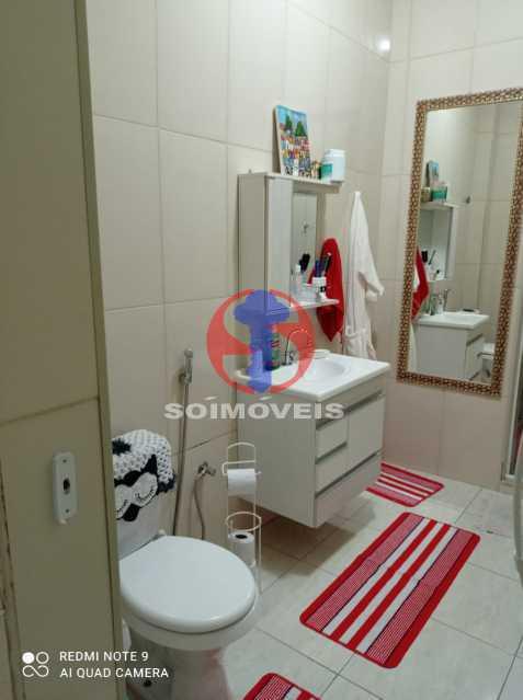 BANHEIRO SOCIAL - Apartamento 2 quartos à venda Rio Comprido, Rio de Janeiro - R$ 395.000 - TJAP21504 - 9