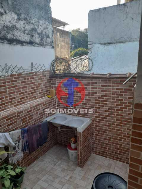 ÁREA EXTERNA - Apartamento 3 quartos à venda Rio Comprido, Rio de Janeiro - R$ 350.000 - TJAP30734 - 6
