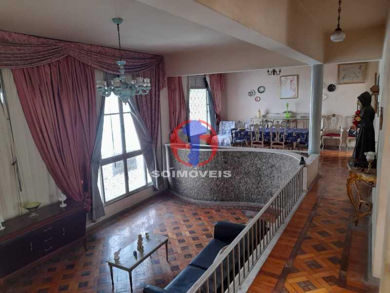 SALÃO - Casa de Vila 4 quartos à venda Tijuca, Rio de Janeiro - R$ 850.000 - TJCV40022 - 1