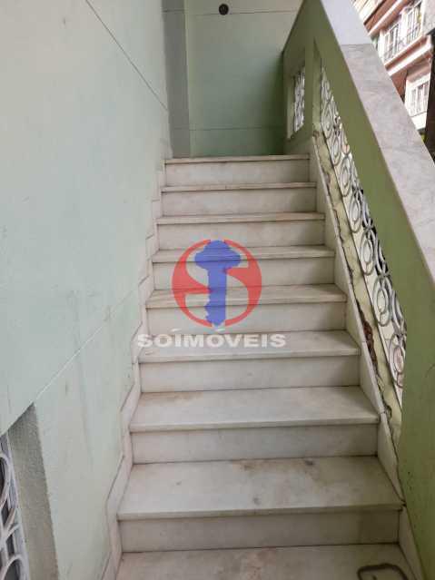 ESCADA ENTRADA - Casa de Vila 4 quartos à venda Tijuca, Rio de Janeiro - R$ 850.000 - TJCV40022 - 3