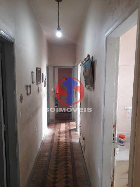 HALL QUARTOS - Casa de Vila 4 quartos à venda Tijuca, Rio de Janeiro - R$ 850.000 - TJCV40022 - 12