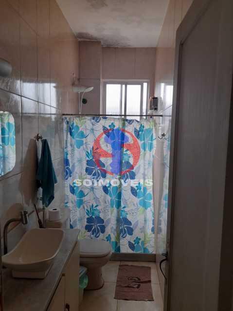 BANHEIRO SOCIAL - Casa de Vila 4 quartos à venda Tijuca, Rio de Janeiro - R$ 850.000 - TJCV40022 - 13