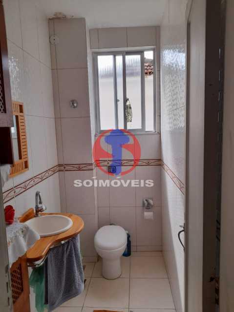 BANHEIRO - Casa de Vila 4 quartos à venda Tijuca, Rio de Janeiro - R$ 850.000 - TJCV40022 - 15