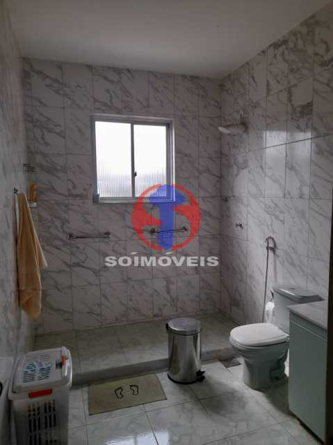 BANHEIRO SOCIAL - Casa de Vila 4 quartos à venda Tijuca, Rio de Janeiro - R$ 850.000 - TJCV40022 - 16