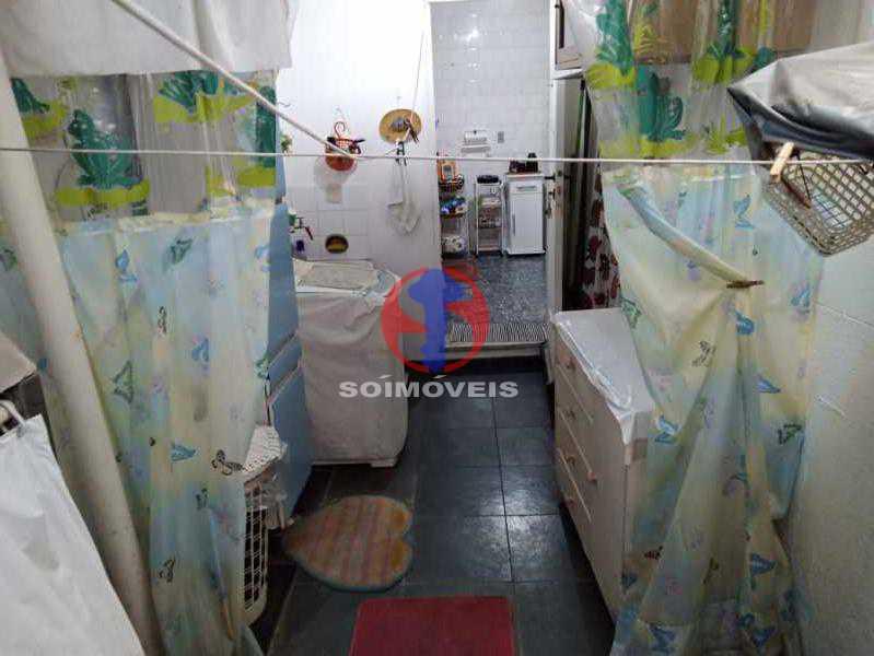 ÁREA DE SERV. - Casa de Vila 3 quartos à venda Tijuca, Rio de Janeiro - R$ 750.000 - TJCV30082 - 31