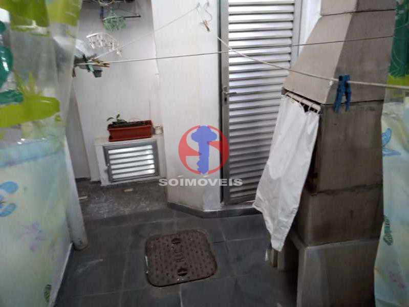 ÁREA DE SEV. - Casa de Vila 3 quartos à venda Tijuca, Rio de Janeiro - R$ 750.000 - TJCV30082 - 30
