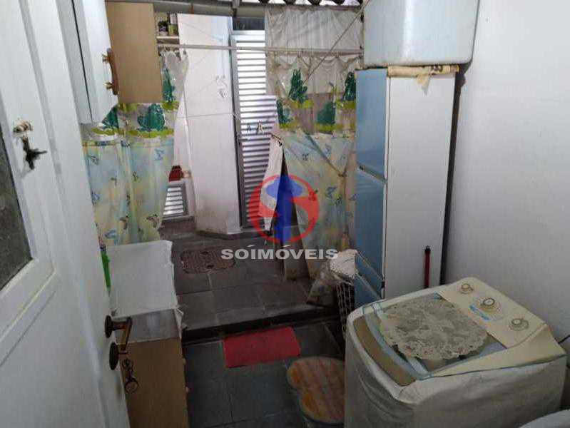 ÁREA DE SERV. - Casa de Vila 3 quartos à venda Tijuca, Rio de Janeiro - R$ 750.000 - TJCV30082 - 29