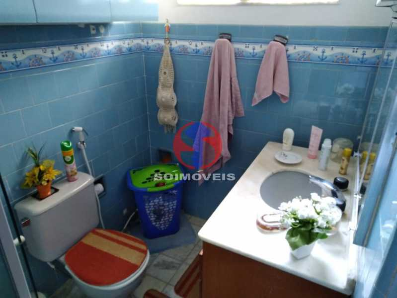 WC SOC. - Casa de Vila 3 quartos à venda Tijuca, Rio de Janeiro - R$ 750.000 - TJCV30082 - 23