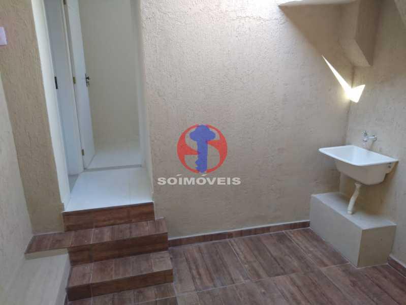 Área - Casa de Vila 3 quartos à venda Benfica, Rio de Janeiro - R$ 290.000 - TJCV30083 - 10