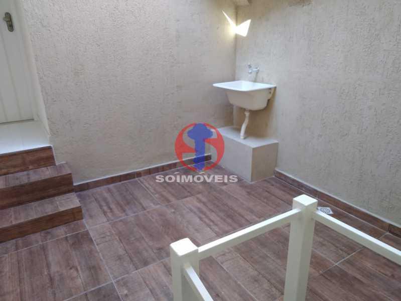Área - Casa de Vila 3 quartos à venda Benfica, Rio de Janeiro - R$ 290.000 - TJCV30083 - 14