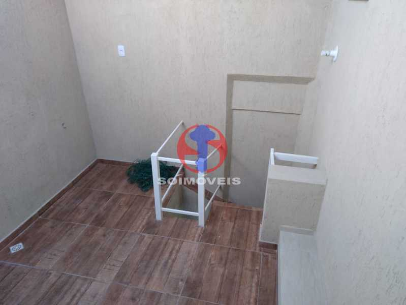 Área - Casa de Vila 3 quartos à venda Benfica, Rio de Janeiro - R$ 290.000 - TJCV30083 - 12