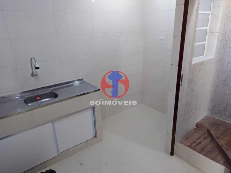Cozinha - Casa de Vila 3 quartos à venda Benfica, Rio de Janeiro - R$ 290.000 - TJCV30083 - 4