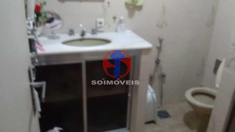 banheiro - Apartamento 1 quarto à venda Tijuca, Rio de Janeiro - R$ 260.000 - TJAP10337 - 8