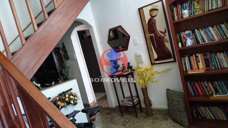 Sala de entrada - Casa de Vila 3 quartos à venda Vila Isabel, Rio de Janeiro - R$ 620.000 - TJCV30084 - 16