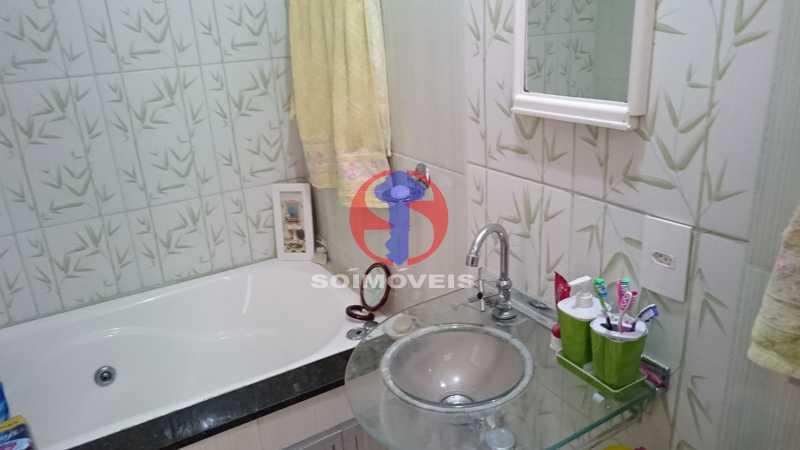 Banheiro 2ºar - Casa de Vila 3 quartos à venda Vila Isabel, Rio de Janeiro - R$ 620.000 - TJCV30084 - 12